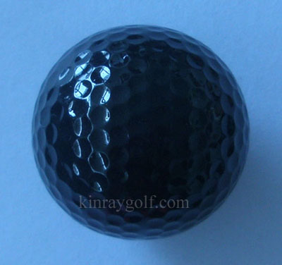 Golf color ball - black