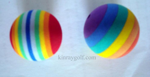 Rainbow Smooth ball