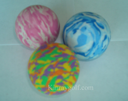 Camo PU golf ball