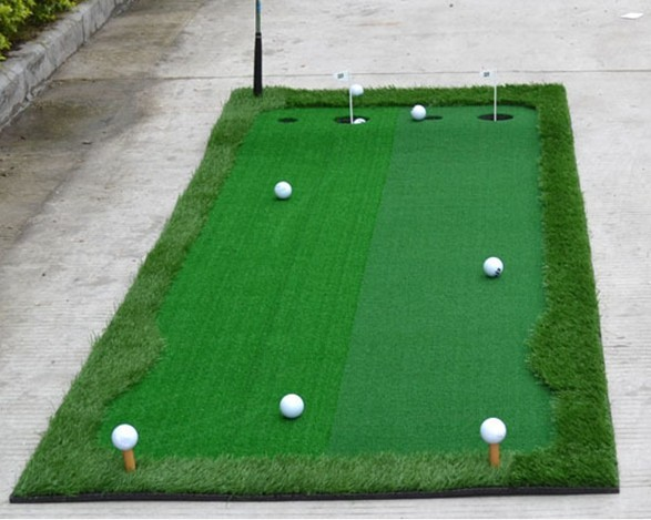 Functional putting green