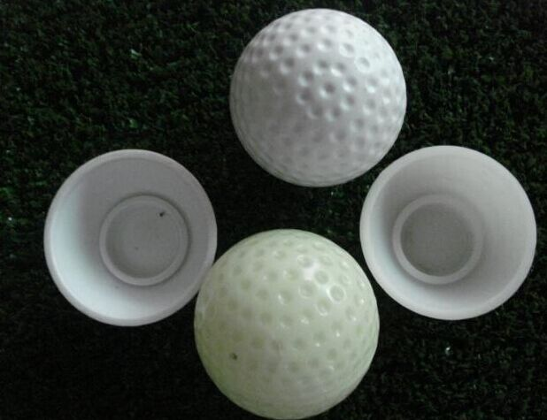 Hollow Practice golf ball